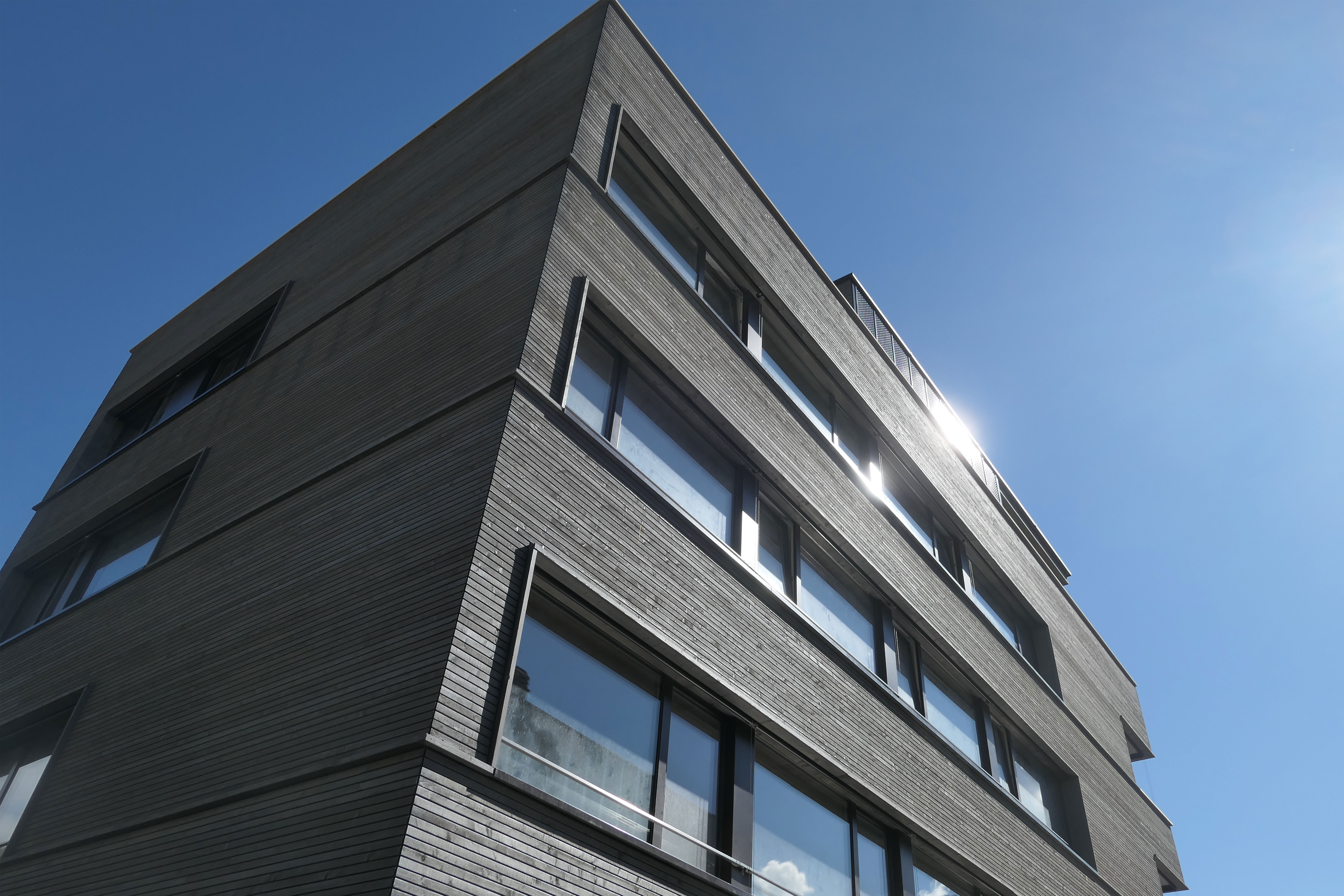 Sion Bois Solaire Holzfassade